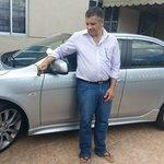 Preparando o carro para sair com família com destino ao Ouro Fino Park...