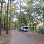 Beaver Bend Resort State Park - Buckeye campground - Mountain Fork River