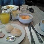 café da manhã com vista para o malecón