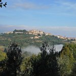 Blick vom Hotel - Montepulciano