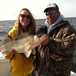 "With Captain Mer and a 29"" Walleye"