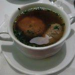 Liver Dumpling in Broth