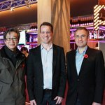 Photo with Hotel General Manager Andy Munt and Manager James Gardiner