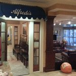 Entry to Alfredo's   - Holiday Mayfield