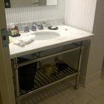 Shabby Chic Minus Chic - bathroom vanity