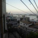 utsikt från valparaiso över stilla havet