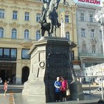 Ban Jelacic Statue at the square