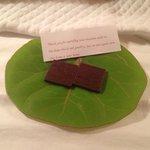one night we got chocolates! :-)