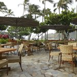 Breakfast by the beach at Kukui's