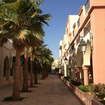 A nice and quiet street of Tala Bay