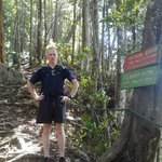 BF at juncture of jungle trek and summit trail