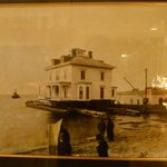 The original house that was moved across the bay from Middleton in 1889.