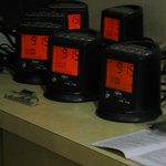 New clock radio's in all the rooms
