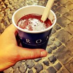 GROM is the best place to get a real Italian Hot Chocolate