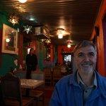 Rick Inside the Restaurant