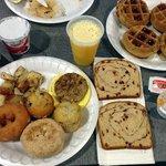 very good breakfast