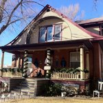 View of this lovely old home from the curbside (just one block from the main street)