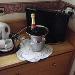 Our Complimentary Bubbly.