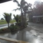 In the Coromandel you can get sudden downpours
