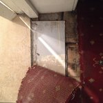 Rotten floorboards and dangerous loose carpet