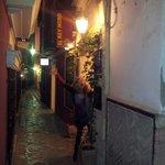 Hotel entrance on Lope de Rueda