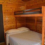 Double Bed Under Twin in Deluxe Cabin