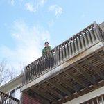 Carriage House 10 balcony
