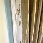 door in bad shape