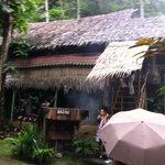 The Bajau's house