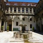 Cloister with fountain