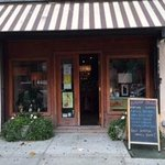 Entrance to HOM cafe