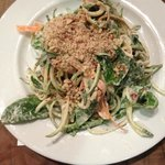 Curry / Zucchini pasta (Raw)