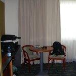 coin lounge dans la chambre