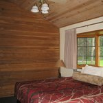 Vaulted ceilings, separate bedroom
