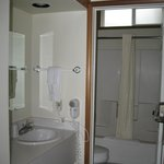 Kenai Princess bath, toilet and shower separate from sink area