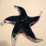 Star shaped paper weight