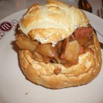 Miner's Beef Stew in a Bread Bowl