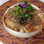 kalua pig and spicy guava slaw