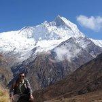 Our guide: Krishna Adhikari