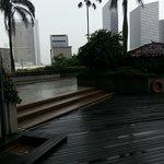 View from the Pool/Tandoor Restaurent