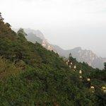 Cable car to Lushan near Hanpokou