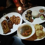 Pork Ribs, Oxtail Soup with Fried Oxtail and Steamed Rice