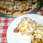 BBQ CHICKEN PIZZA THIN CRUST