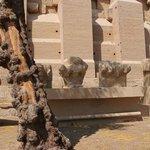 Baboon statues