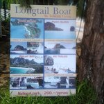 Longtail Boat service