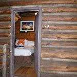 Our cabin from the inside.