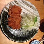 Pork cutlet with cabbage