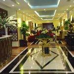 le lobby de l' hotel