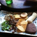 cookie tasting plate