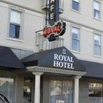 Royal Hotel Cafe Foto